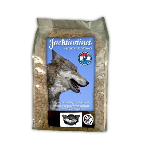 Jachtinstinct Bröckchen Hundelachse Grain Free 4 KG