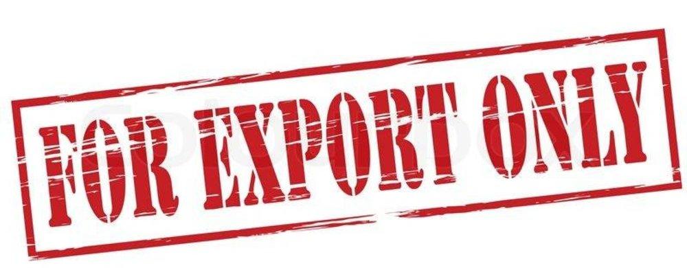 Exportproducten