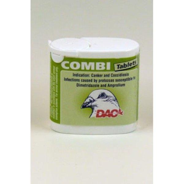 Dac Pharma Combi-Tabs (Kokzidiose, Trichomonaden und Hexamieten)