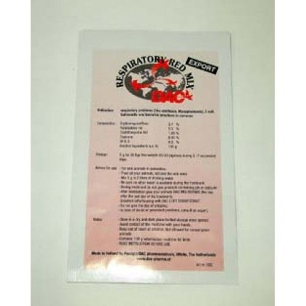 Dac Pharma Respiratoire Rode Mix (ornithose, Mycoplasmosis, Coryza, E-coli, Salmonella)