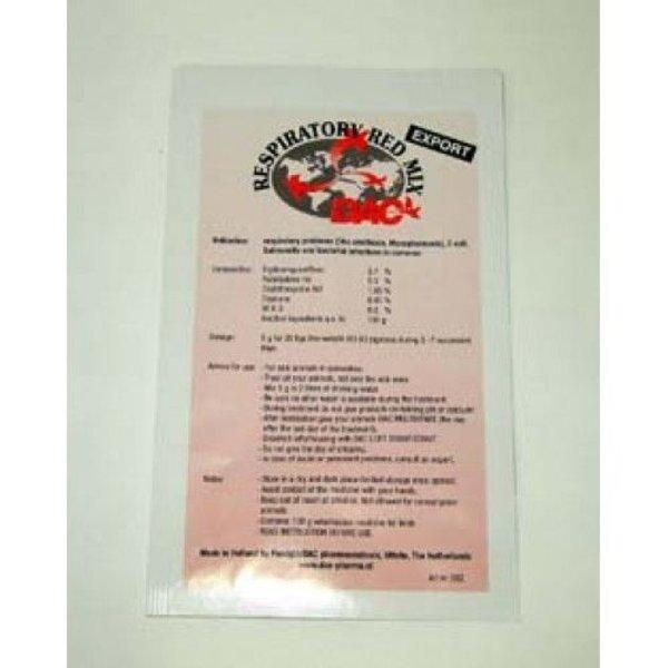Dac Pharma Respiratorische Red Mix (ornithose, Mycoplasmosis, Coryza, E-coli, Salmonella)