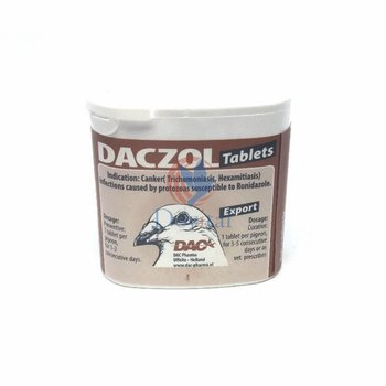 Dac Pharma Daczol tabs (trichomonades and hexamites)