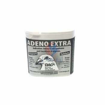 Dac Pharma Adeno Extra Tabletten (Adeno-Coli Syndroom en Coccidiose)