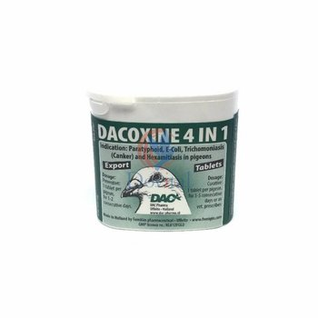 Dac Pharma Dacoxin Tabs 4 in 1