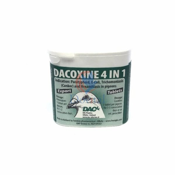 Dac Pharma Dacoxin Tabs 4 in 1
