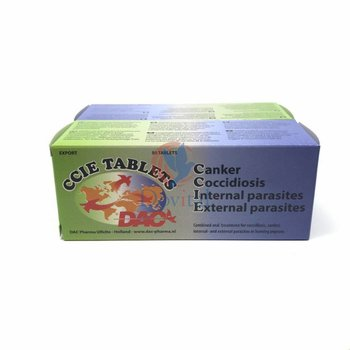 Dac Pharma CCIE TABLETS (coccidiosis en Geel)