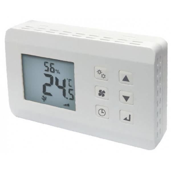 Infrarood Warmtepanelen OPTIMA DHT, kombiniert mit Thermo-Hygrostat Lüftersteuerung