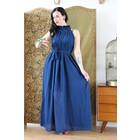 Night Blue Goddess Dress