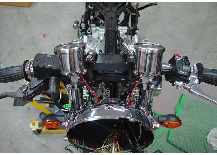Universele Cafe Racer Mechanische Toerenteller 1 : 4