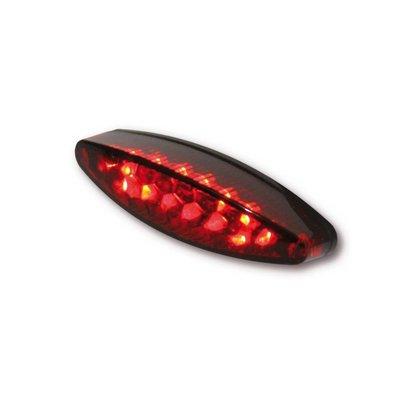 Achterlicht LED Ovaal Rood