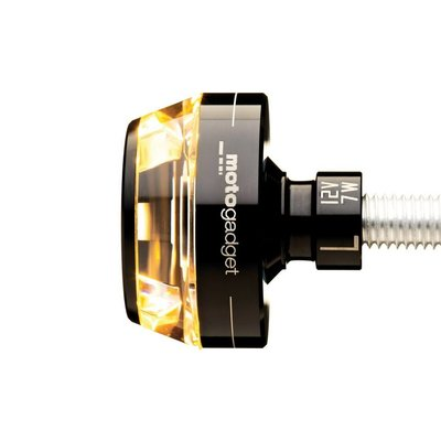 Motogadget Bar end LED-indicator m-Blaze Disc Black