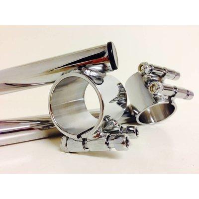 35MM Chrome Clipons Honda CB etc