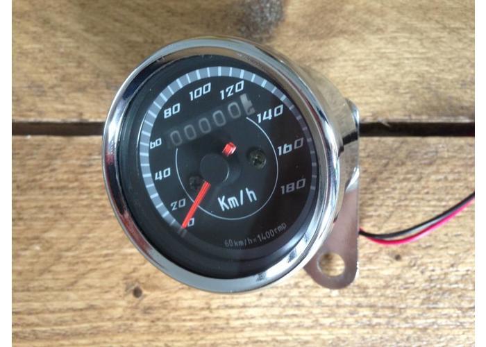 Kilometerteller 180km/h