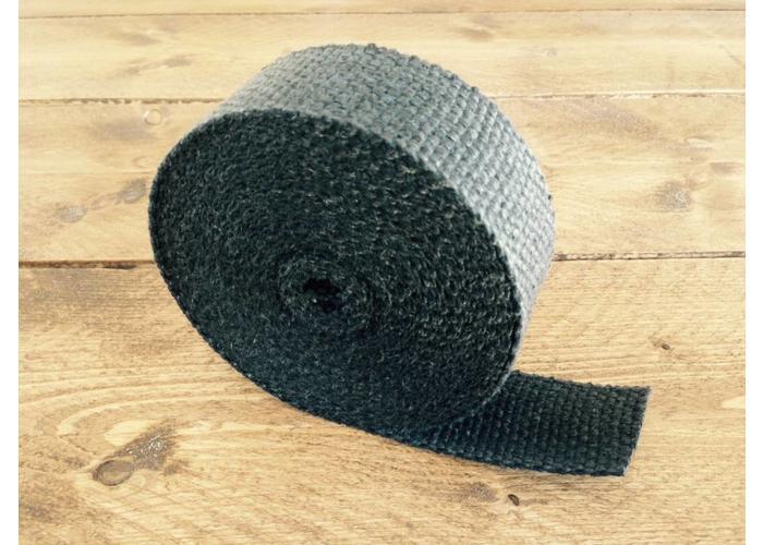 10M Uitlaat Wrap / Exhaust Wrap / Heat Wrap Zwart
