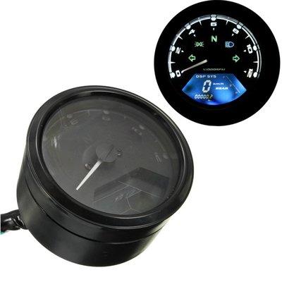 12.000 RPM / KM/H Teller Digitaal