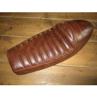 SR400 SR500 Style Seat Tuck 'N Roll Vintage Brown 64