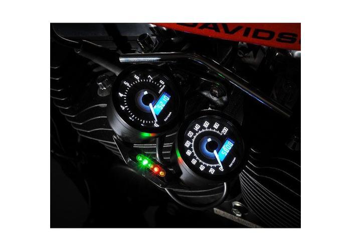 Daytona Velona Toerenteller Zwart 18.000 RPM