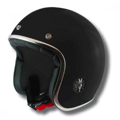 MT Helmets Le Mans Retro Jet Mat Zwart