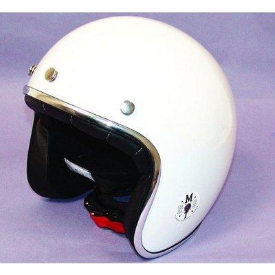 MT Helmets Le Mans Retro Jet Wit