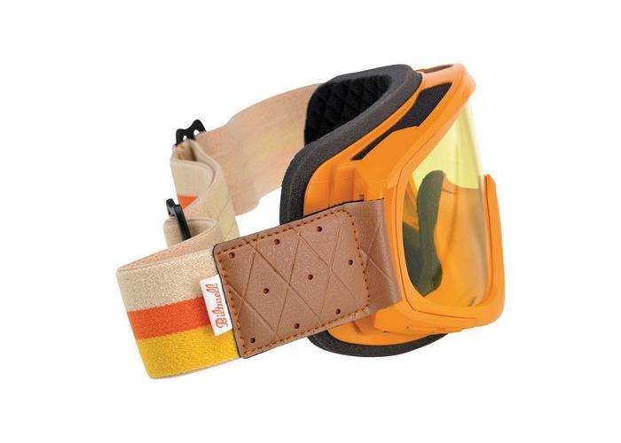 Biltwell Overland Goggle Oranje/Yellow