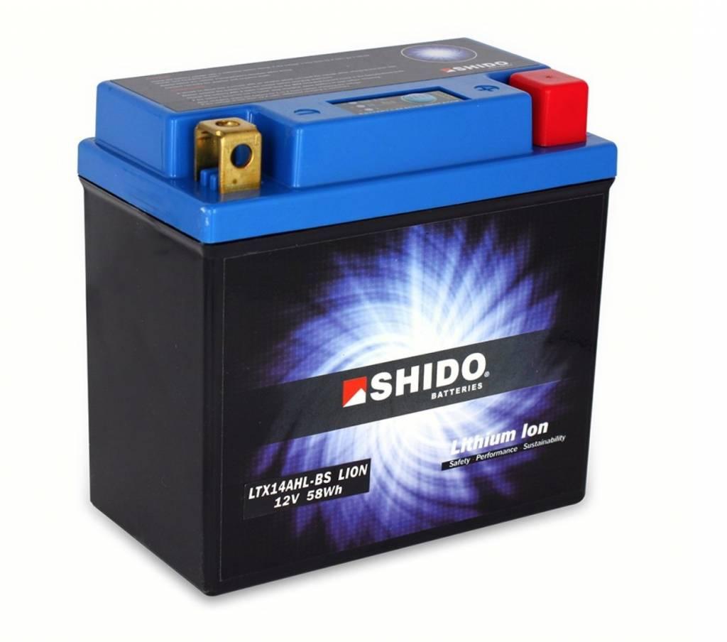 Shido YTX14-BS Accu Sh...