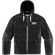 ICON One Thousand The Hood Black Jacket