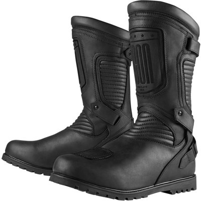 ICON One Thousand Prep Boots Stealth Zwart
