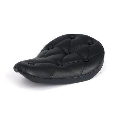 Bobber Seat Smal Rivets Zwart