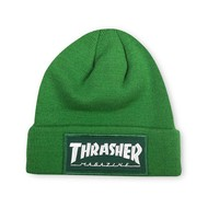 Thrasher Patch Beanie - Green