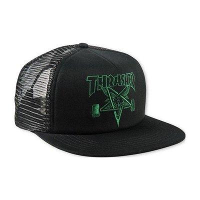 Thrasher Skategoat - Mesh Cap Black