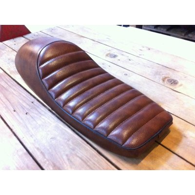 Tuck N' Roll Cafe Racer Seat Brown 98