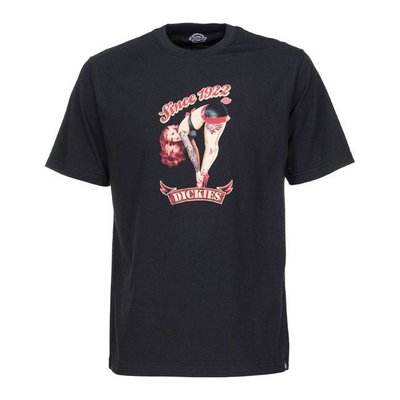 Dickies Helendale T-shirt - Pin Up Black