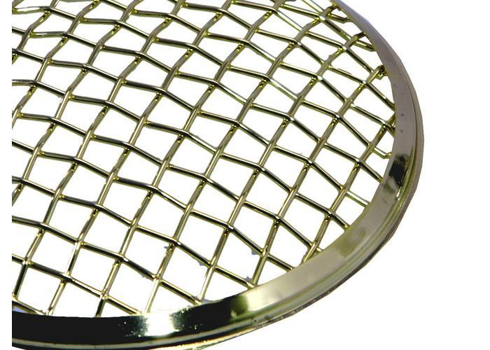 175MM Mesh Grill Insert Brons Chrome