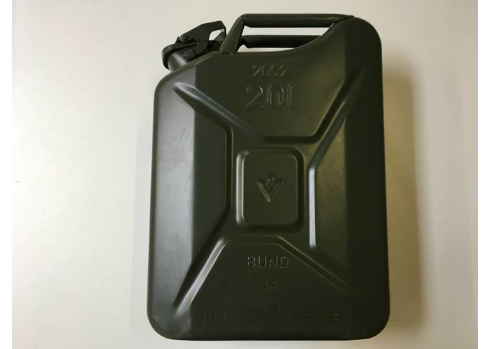 101 Inc Jerrycan 20 Ltr Army Green