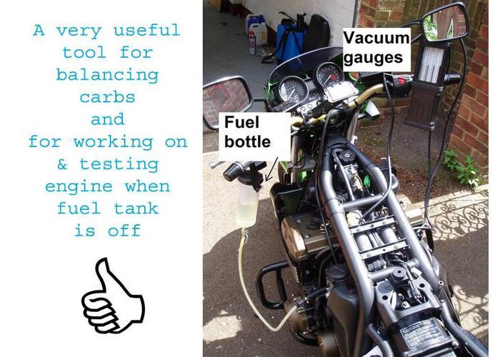 Benzine Tank Voor Proefstand + Kraan type 2