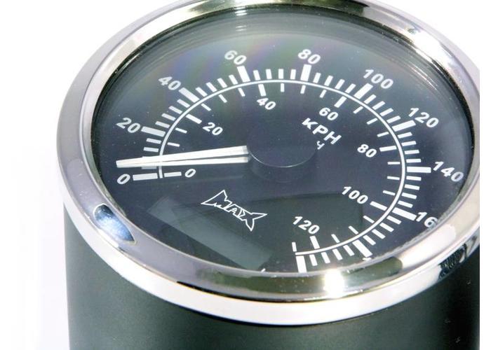 85MM GPS Analoge Kilometerteller voor 22MM Stuur