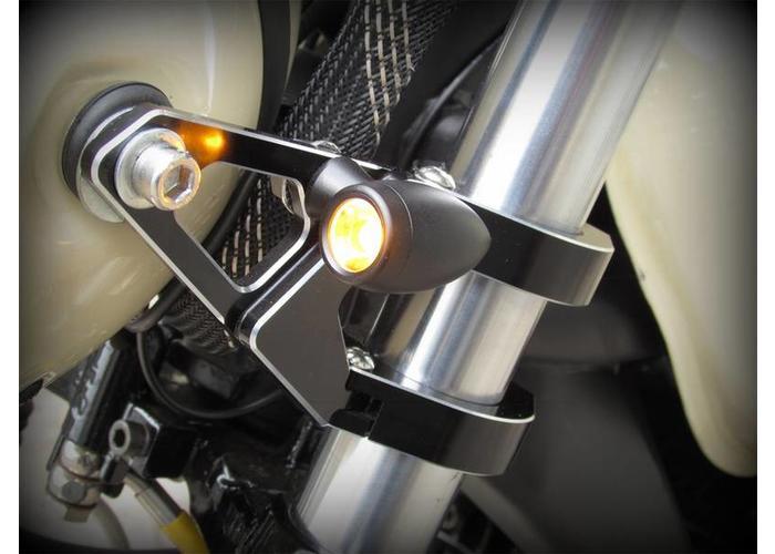 Premium Gefreesde LED Knipperlichten (Set) Flat Black
