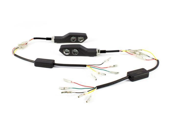 LED Achterlicht / Knipperlichten (Set) Combinatie CNC