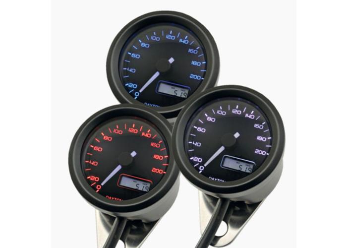 Daytona 48MM Velona Kilometerteller 200 km/h