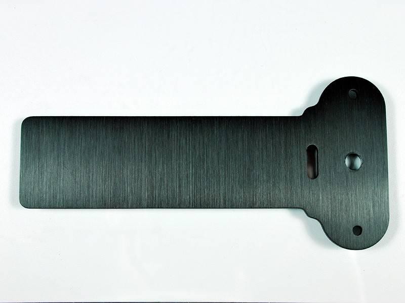 motogadget msm combi universele montage bracket zwart geanodiseerd. Black Bedroom Furniture Sets. Home Design Ideas
