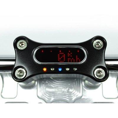 Motogadget MSM 22mm Stuur Clamp Zwart Geanodiseerd