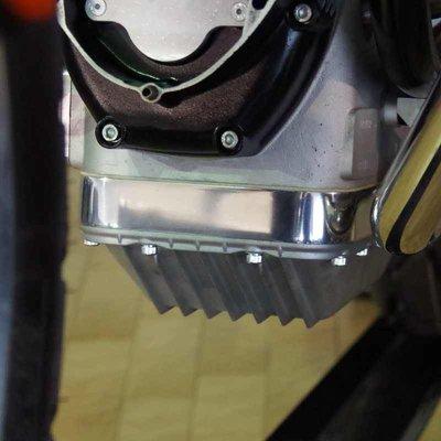 Siebenrock Oliecarter afstandsring '' gepolijst voor BMW R2V