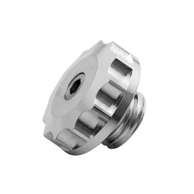 Motone Motorolie-vuldop - Knuppel - Zilver