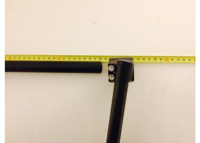 22MM Zwarte Clipons CNC (Veel Maten)