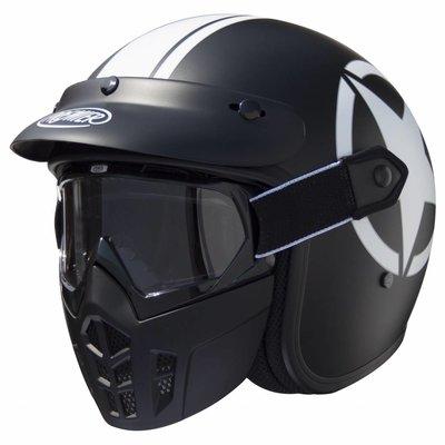 Premier Vintage Mask Jethelm Star 9 BM