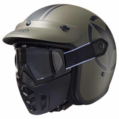 Premier Vintage Mask Jethelm Star Military BM