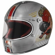 Premier Trophy Helm Pin Up Old Style Silver