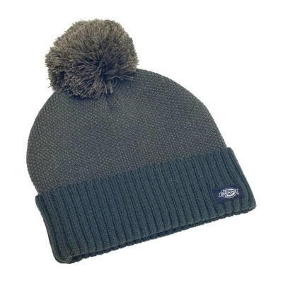 Dickies Jonesville Bobble Beanie Dark Olive