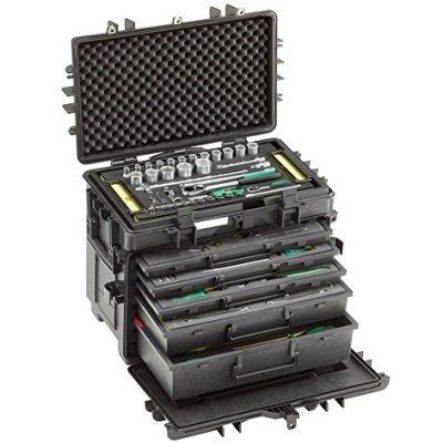 Stahlwille Zeer complete mobiele gereedschapskoffer + 89 delige set Type 13217TS/1