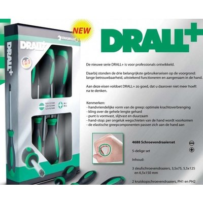 Stahlwille Drall+ schroevendraaierset 4688